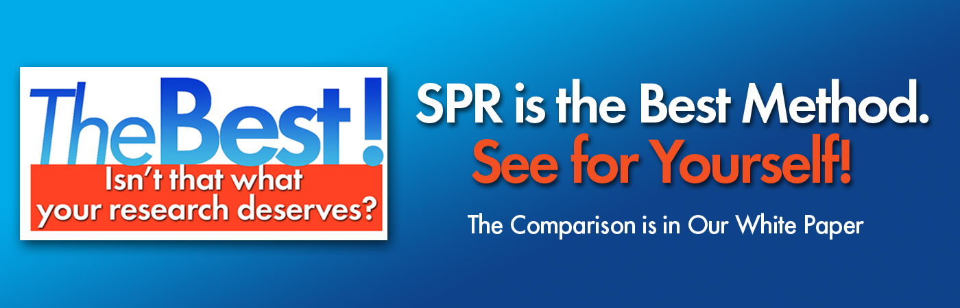 SPR is the Best Analysis Tool